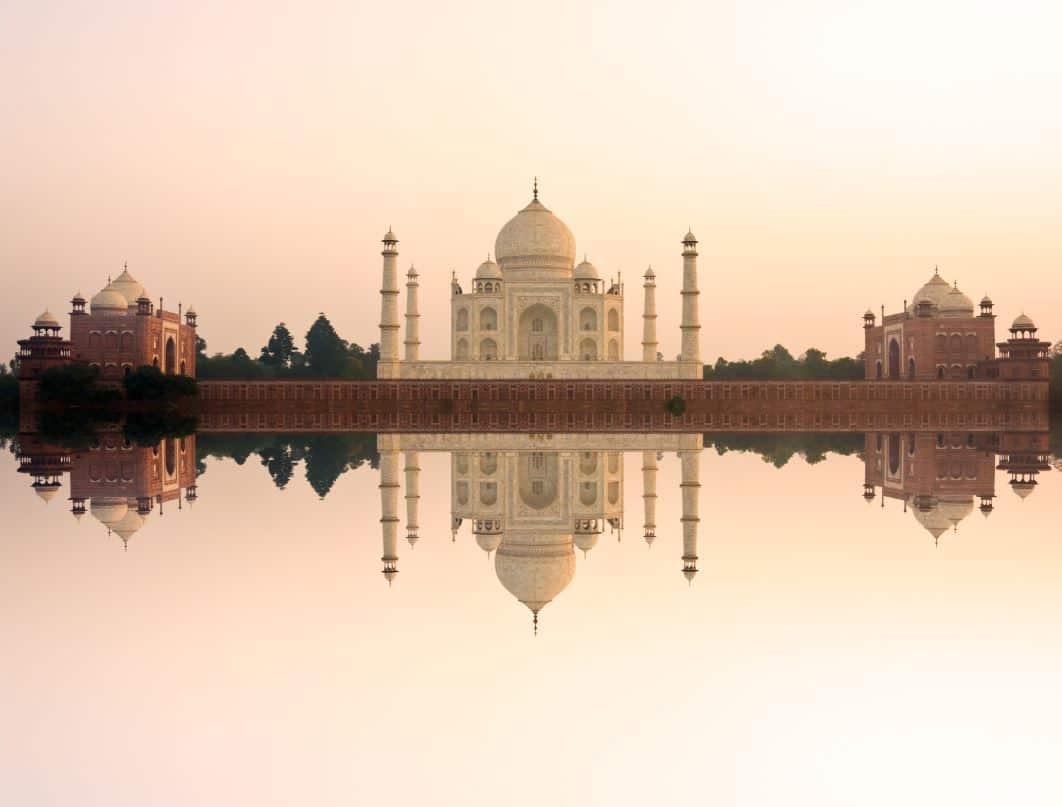 India-Taj-Mahal-Sunrise