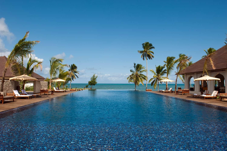 The Residence Pool in Zanzibar, Tanzania
