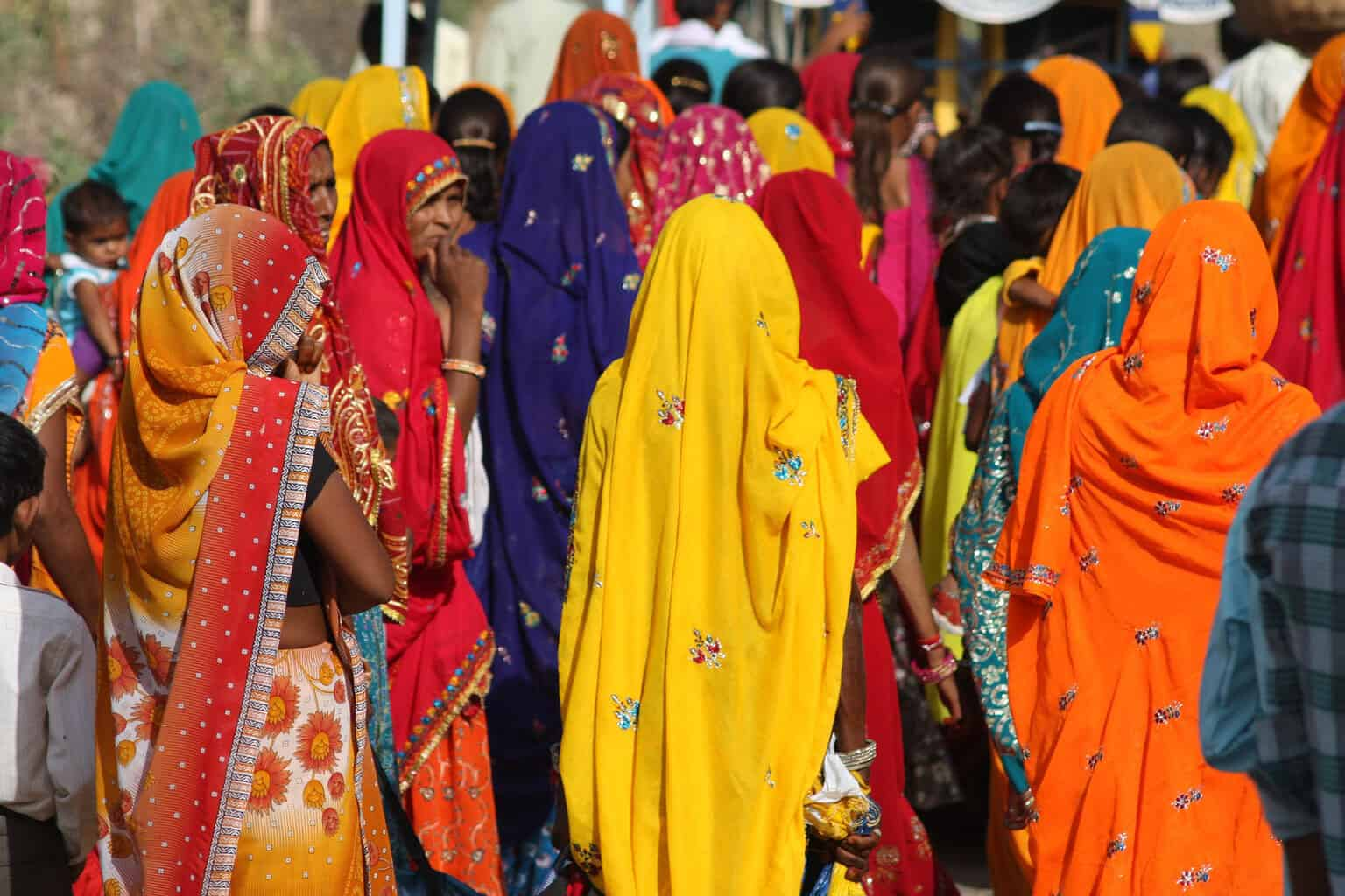India-Colourful-Saris