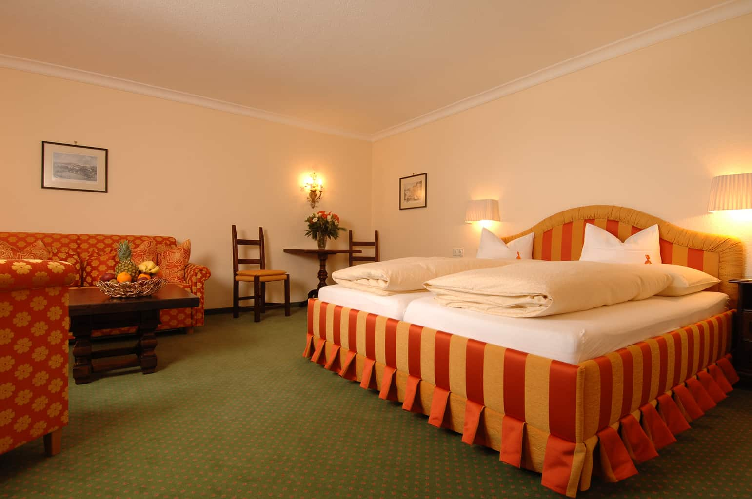 Bedroom at Hotel Ulli