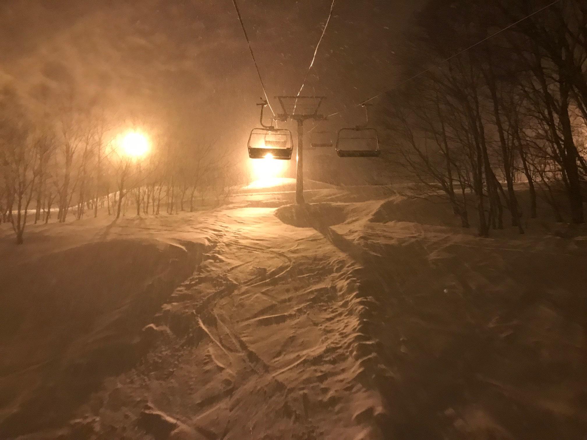 Russustu Resort Night Skiing